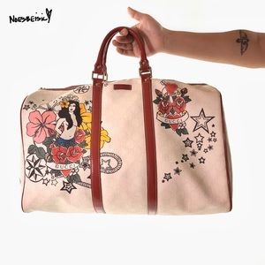 Gucci X Unicef Tattoo Heart Collection Carry-On
